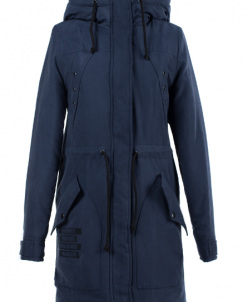 05-1442 Куртка зимняя (Синтепон 300) Плащевка Индиго