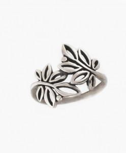 Кольцо из серебра Акация Юмила