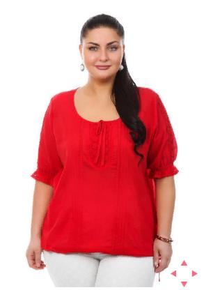 Блузка Красная 106157