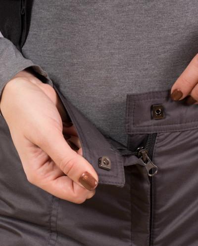 Женские брюки - комбинезон, модель ПЖ1 (цвет графит)