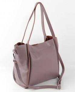 Женская кожаная сумка 1811 Колокасия