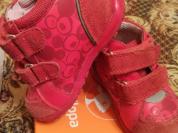Ботиночки для девочки ясельного возраста
