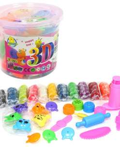 Пластилин 3D 12 цветов