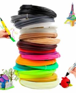 3D ручка дополнительные стержни 8 цветов