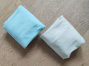 Простыни на резинке 2шт handmade 120х60см