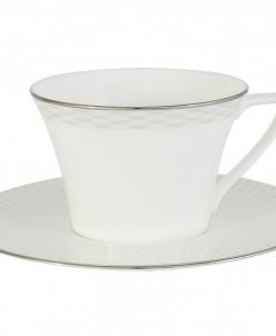 Чашка с блюдцем Бриз