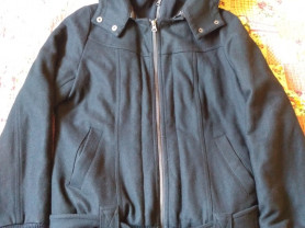 Пальто-куртка Sublevel (Германия)р.44-46 с шерстью