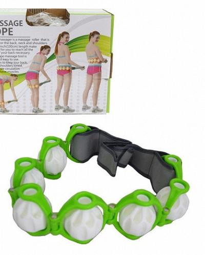Роликовый ручной массажер-лента Massage Rope