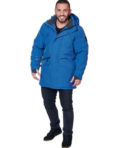 Куртка мужская, сезон 2019-2020, арт. A-8813, Джинсовый