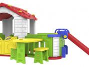 Toy Monarch Игровой домик со стульями