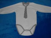 Боди с галстуком Ё-маё, 74-80 см