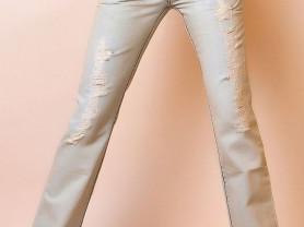 джинсы иск.состаренные,  размер 46-48