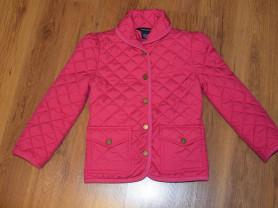 Куртка легкая стеганка ralph lauren на 6-8 лет