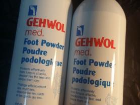 Gehwol med  пудра для ног геволь