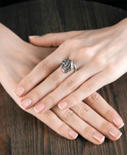 Кольцо из серебра Изабель Юмила