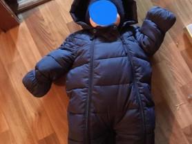 Комбинезон демисезонный baby go, 68 размер