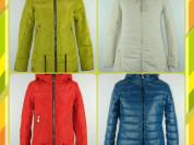 Новые демисезонные куртки р.42-52
