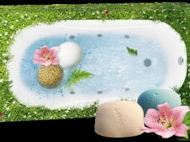 Мараловые бомбочки для ванн