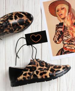 Кожаные туфли в стиле  кэжуал. New collection