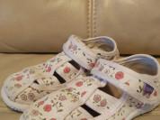 Босоножки текстильные 28