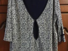 Блузка модного кроя размер 54-56  Снять с продажи