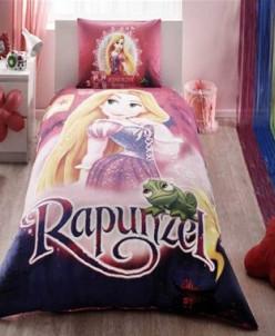 Лицензионное Постельное Бельё Ранфорс Disney Rapunzel - TAC