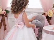 детские праздничные платья в пол.