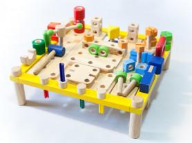 "I'm Toy Набор развивающий ""Столярный стол"""