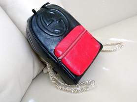 Рюкзак Gucci, натуральная кожа