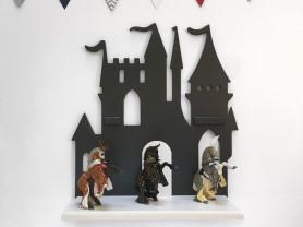 Полка Замок серый
