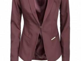 Женский пиджак темно-бордового цвета Charuel разме