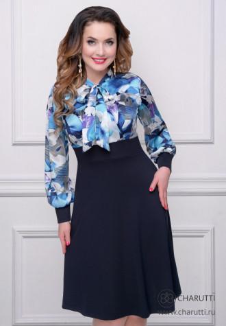 Платье Королевский шарм (роял)