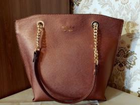 Новая сумка на цепочке из сафьяновой кожи Италия