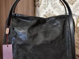 Новая сумка Италия из лазерной кожи