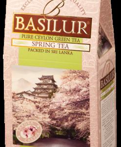 Чай Basilur ВРЕМЕНА ГОДА Весенний (сакура), 100гр картон