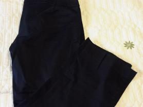 Укороченные брюки Zara черные р 36 евро на 42-44