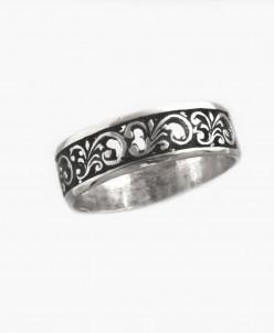 Кольцо из серебра Ажур Юмила