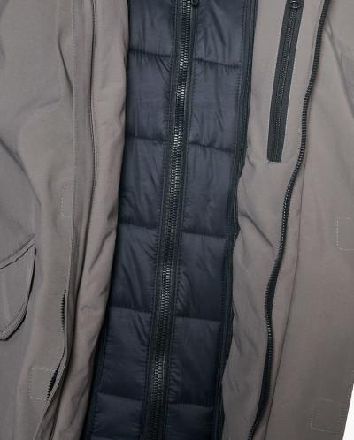 Мужская куртка, сезон 2019-2020, арт. A-8858, Кофейный
