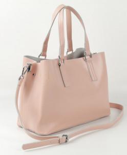 Женская кожаная сумка 88301 Лайт Пинк