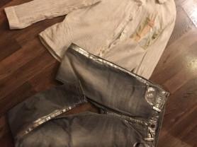 джинсы италия + рубашка италия