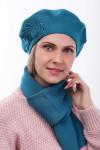 Комплект (берет, шарф)
