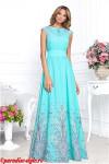 Платье фонтаны ЛОДОЧКА