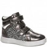 XT779-2 серебро Ботинки деми для девочек (32-37)