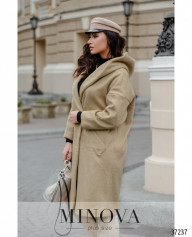 Пальто №0333-Бежевый