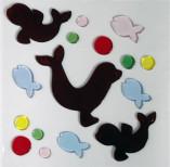 Аппликация декоративная Magic Gel Морские котики