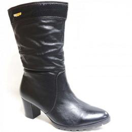 1C899F-0311 черн Сапоги зима женские (36-43)