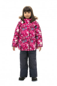 WP81217 PINKКомплект зимний: куртка и брюки р86-100