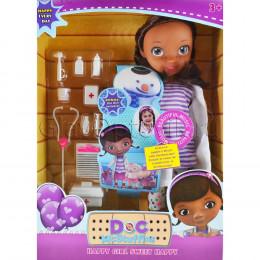 Кукла Доктор Плюшева с аксессуарами 28 см