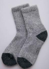 Носки из шерсти яка серые, Монголия