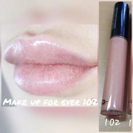 Make up for ever блеск для губ 102
